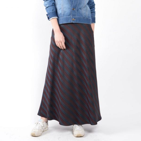 SKIRT:ロングフレアスカート