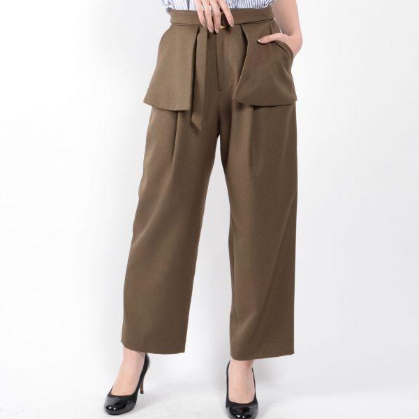 PANTS:ウェストデザインパンツ