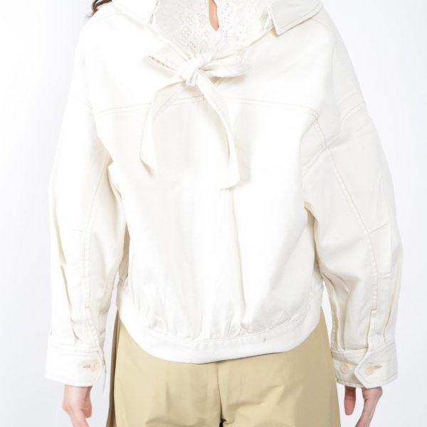 :バックリボンジャケット