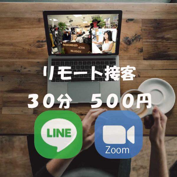 DRESS:リモート接客30分券