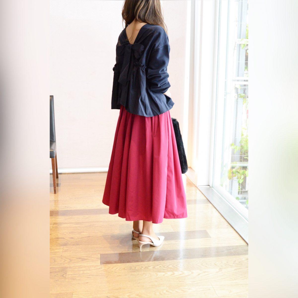 :ナイロンギャザースカート