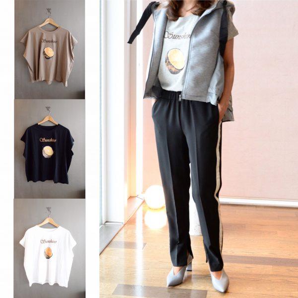 TOPS:ラグランスリーブTシャツ