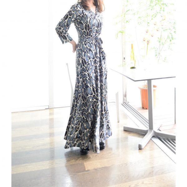 DRESS:カシュクールワンピース