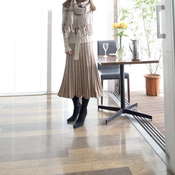 KNIT:ニットセットアップ