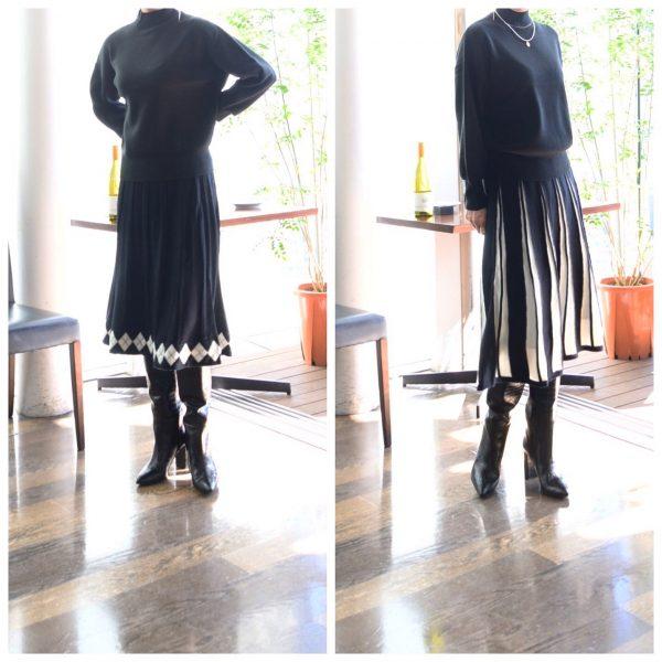 SKIRT:ニットスカート