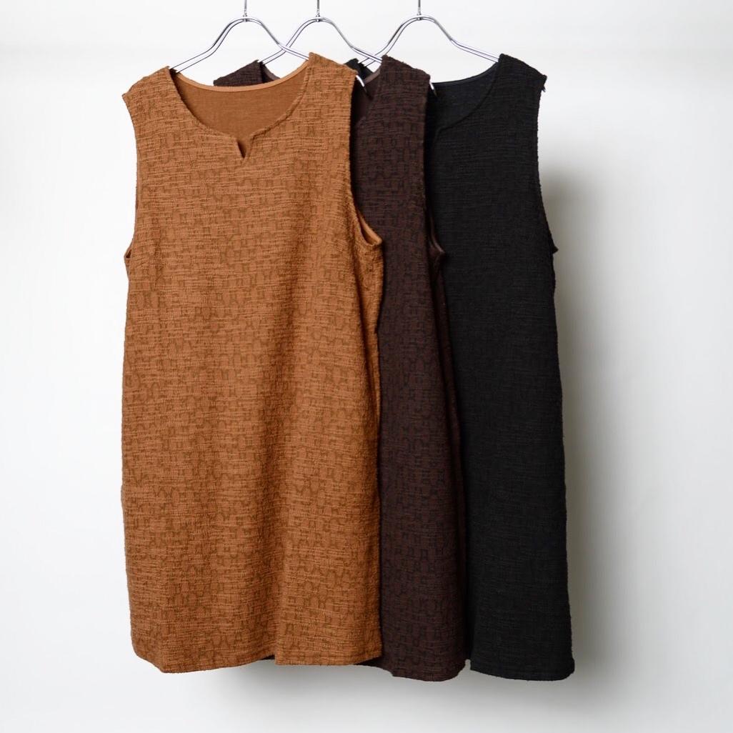 :ツイードジャンバースカート