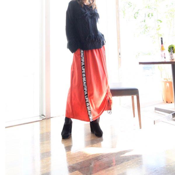 :インポートスウェットスカート