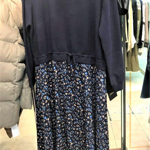 DRESS:ウエスト切替ワンピ