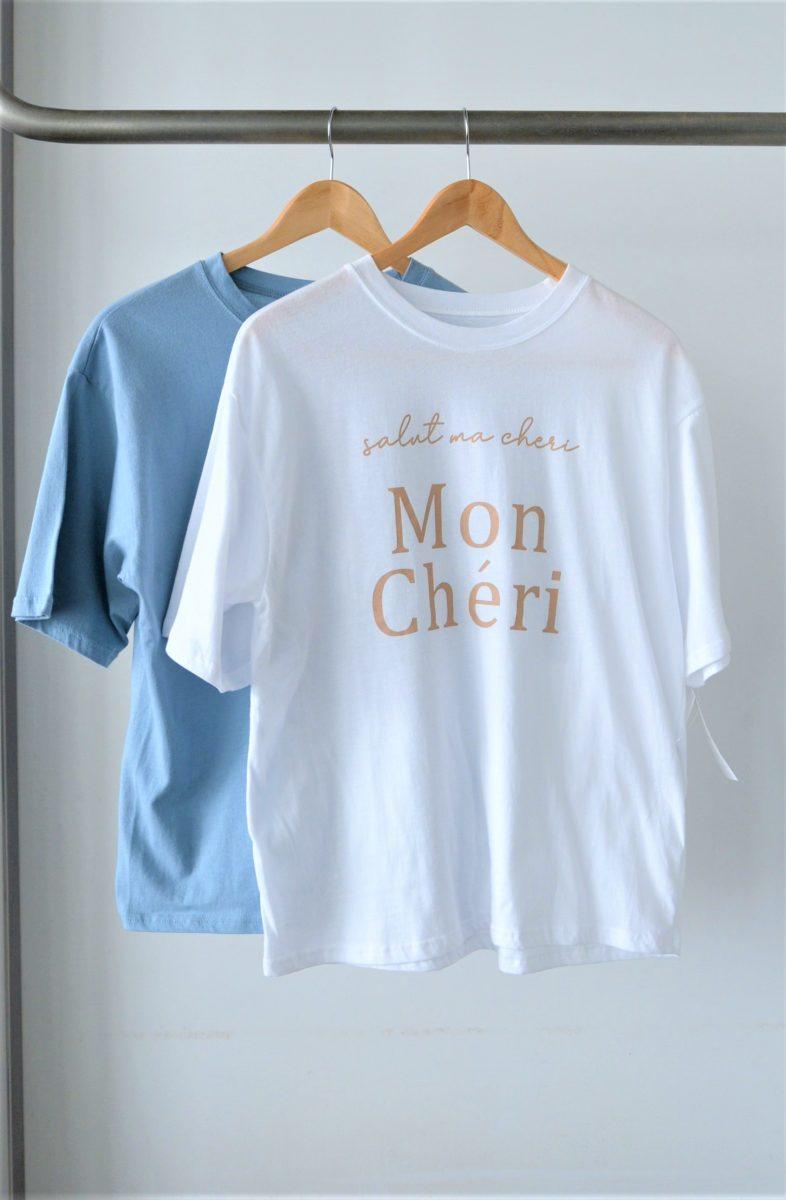 :ロゴTシャツ